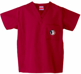 Florida State Seminoles Scrub Top