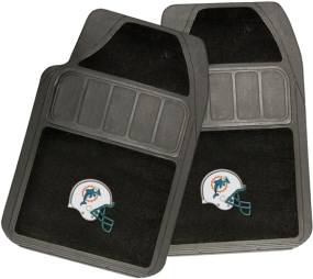 Miami Dolphins Rubber Floor Mat