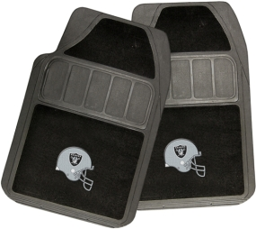 Oakland Raiders Rubber Floor Mat