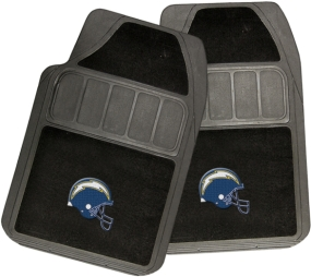 San Diego Chargers Rubber Floor Mat