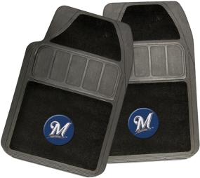 Milwaukee Brewers Rubber Floor Mat