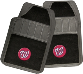 Washington Nationals Rubber Floor Mat