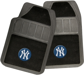 New York Yankees Rubber Floor Mat