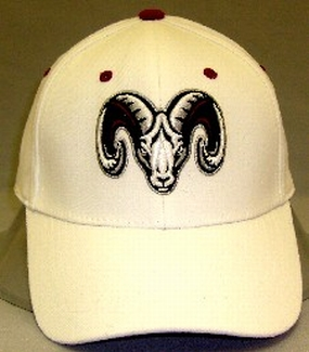 Fordham University White One Fit Hat
