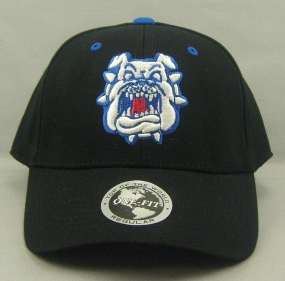Fresno State Bulldogs Black One Fit Hat