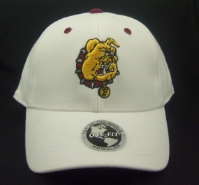 Ferris State Bulldogs White One Fit Hat