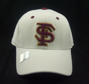 Florida State Seminoles White One Fit Hat