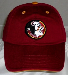Florida State Seminoles Adjustable Crew Hat