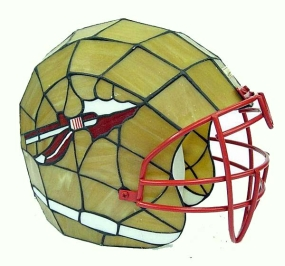 Florida State Seminoles Glass Helmet Lamp
