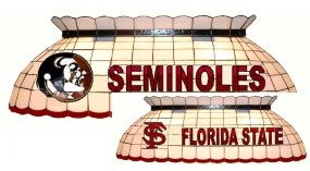 Florida State Seminoles Pool Table Light