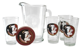 Florida State Seminoles Pitcher Set