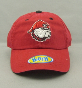 Georgia Bulldogs Youth Crew Adjustable Hat