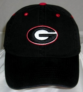 Georgia Bulldogs Adjustable Crew Hat