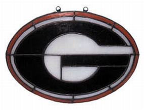 Georgia Bulldogs Suncatcher