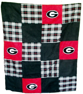 Georgia Bulldogs Quilt