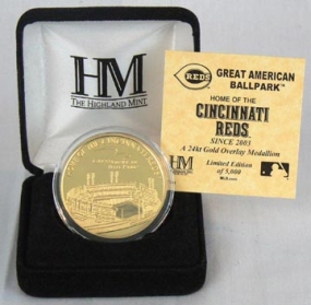 Great American Ballpark 24KT Gold Commemorative Coin