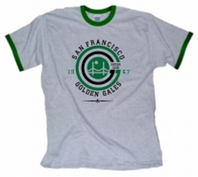 1967 San Francisco Golden Gales Ringer T-Shirt