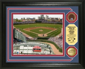 Wrigley Field Infield Dirt Photo Mint II