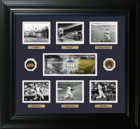 Yankee Stadium Memorable Moments 24KT Gold and Infield Dirt Coin Photo Mint