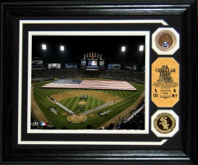 U.S. CELLULAR FIELD INFIELD DIRT COIN PHOTO MINT