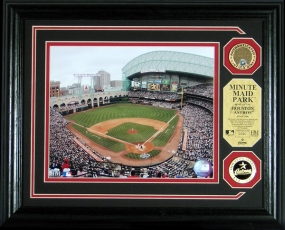Minute Maid Park Authenticated Infield Dirt Photomint