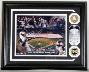 Chicago White Sox 2005 World Series Champions Game Used Baseball Photomint