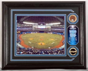 TORONTO BLUE JAYS ROGERS CENTRE PHOTOMINT WITH INFIELD DIRT