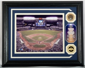 MILWAUKEE BREWERS MILLER PARK PHOTOMINT WITH INFIELD DIRT