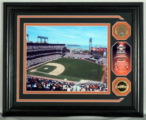 San Fransico Giants AT&T Park Photomint Infield Dirt with Infield Dirt