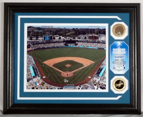 Dodger Stadium AUTHENTIC INFIELD DIRT PHOTOMINT