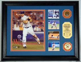 David Wright Highlight Collection Infield Dirt Coin Photo Mint