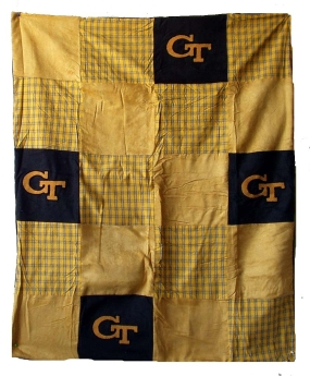 Georgia Tech Yellow Jackets Quilt