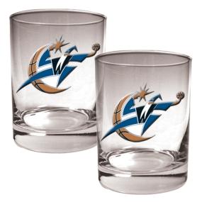 Washington Wizards 2pc Rocks Glass Set