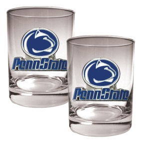 Penn State Nittany Lions 2pc Rocks Glass Set