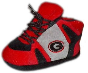 Georgia Bulldogs Baby Slippers