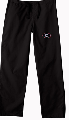 Georgia Bulldogs Scrub Pants