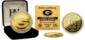 University of Georgia 24KT Gold Coin