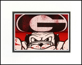 Georgia Bulldogs Vintage T-Shirt Sports Art