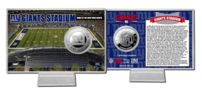 Giant Stadium Silver Coin Card