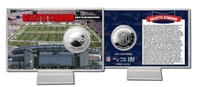 Gillette Stadium Silver Coin Card