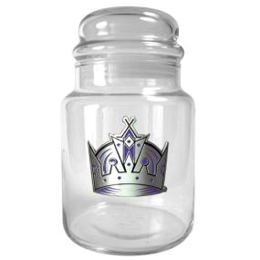 Los Angeles Kings 31oz Glass Candy Jar