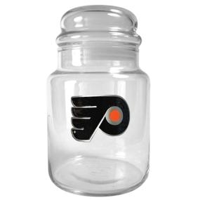 Philadelphia Flyers 31oz Glass Candy Jar