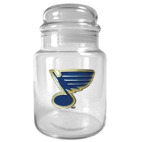 St. Louis Blues 31oz Glass Candy Jar
