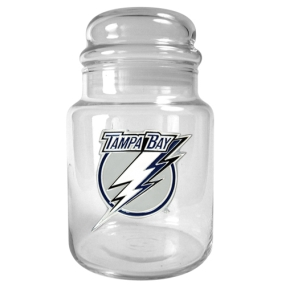 Tampa Bay Lightning 31oz Glass Candy Jar