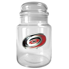 Carolina Hurricanes 31oz Glass Candy Jar