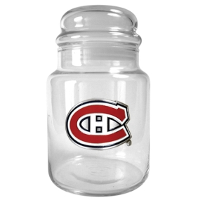 Montreal Canadiens 31oz Glass Candy Jar