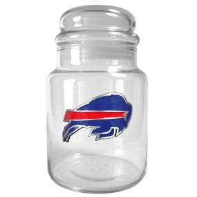 Buffalo Bills 31oz Glass Candy Jar