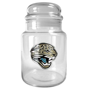 Jacksonville Jaguars 31oz Glass Candy Jar