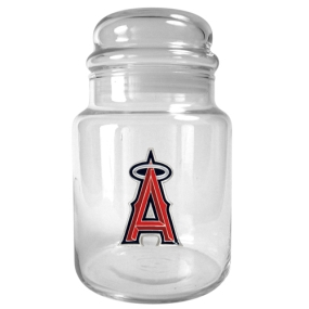 Anaheim Angels 31oz Glass Candy Jar