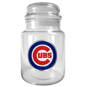 Chicago Cubs 31oz Glass Candy Jar